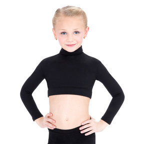 Capezio Turtleneck Crop Top