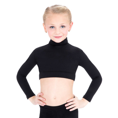Capezio Turtleneck Crop Top : TB107C