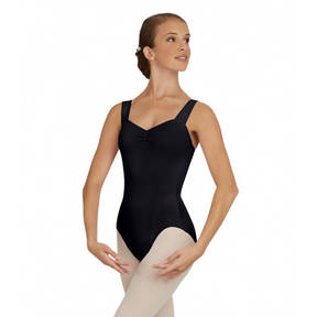Girls Capezio Wide Strap Leotard