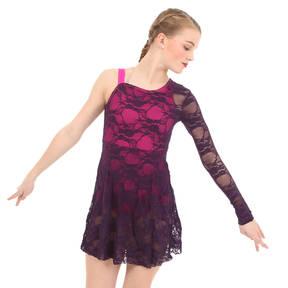 Follow Your Heart Dress-Fuchsia