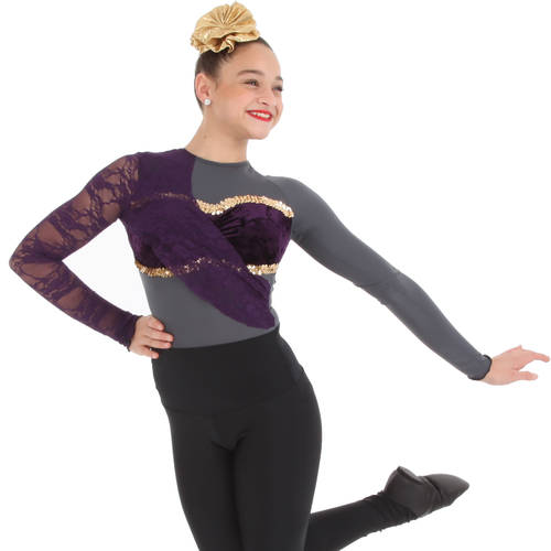 Adore You Long Sleeve Leotard : M543