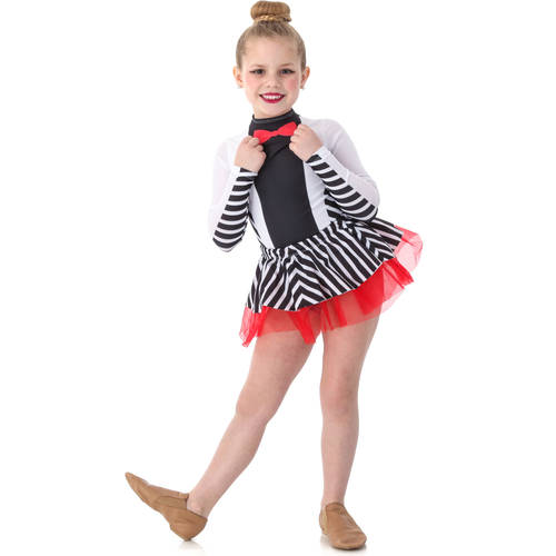 Youth Suit and Tie Leotard : S015C