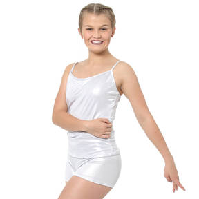 Youth Metallic Camisole Tank