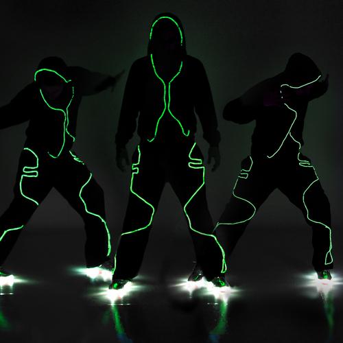Dance Electric Lighted Pants : DE201