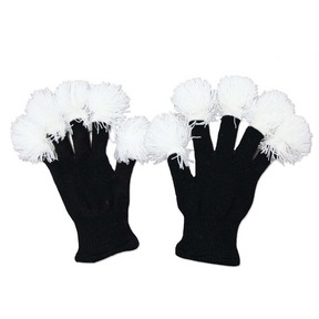 Dance Electric Lighted Tassel Gloves