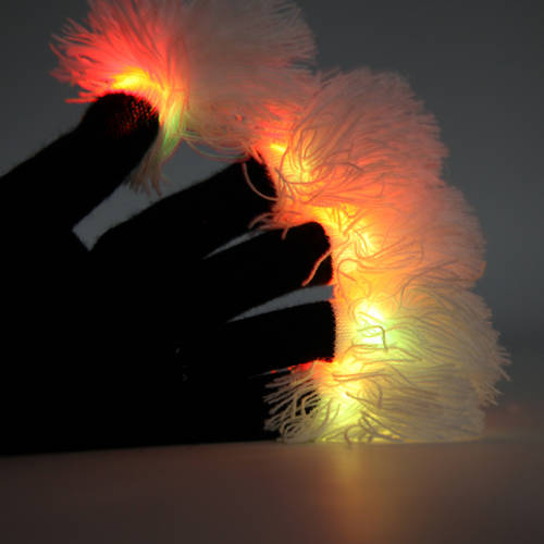 Finger Light Tassel Gloves : DE307
