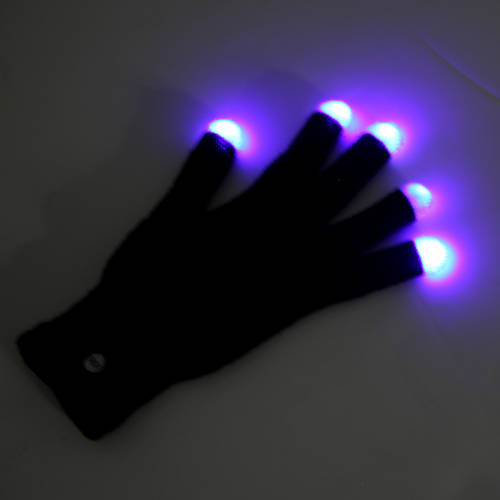 Dance Electric LED Gloves : DE309