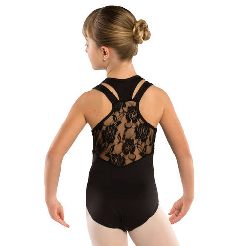 Youth Lace Racerback Leotard : 2402C