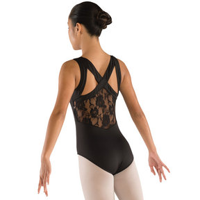 Girls Lace Racerback Leotard
