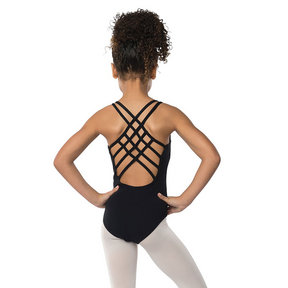 Youth Cross Strap Leotard