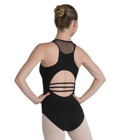 Mesh Racer Back Leotard