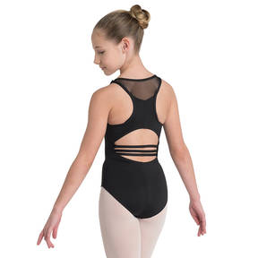 Youth Mesh Racer Back Leotard