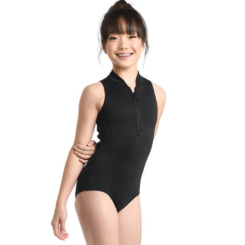 Youth Zipper Front Leotard : 2724C
