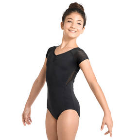 Youth Raglan Cap Sleeve Leotard