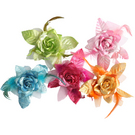 Dasha Metallic Hair Flower : 2362