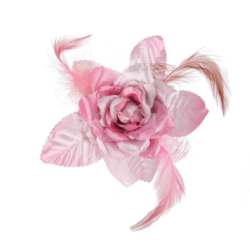 Dasha Metallic Hair Flower 2362