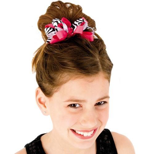 Dasha Zebra Hair Clip : 4084D