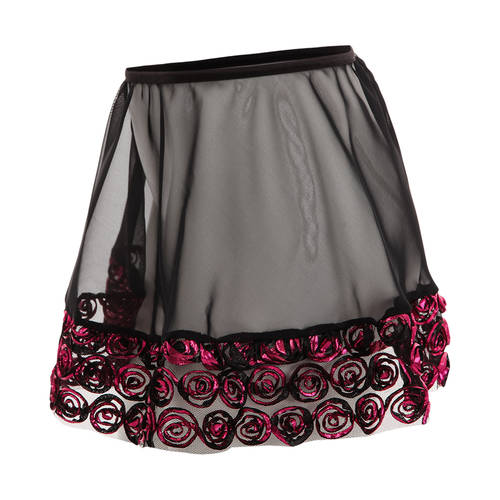 Girls Rosette Pull On Skirt : 4343