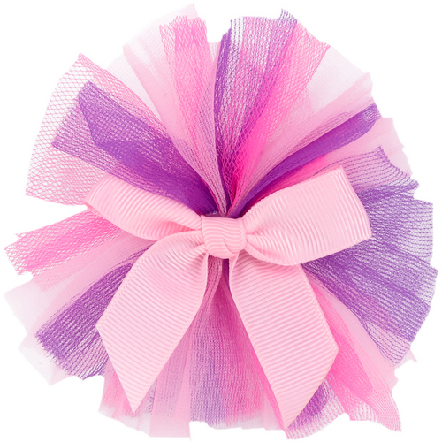Three Color Tutu With Bow : 4412