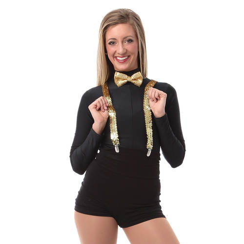 Sequin Suspenders : 4640