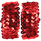 Sequin Cuffs - Pair : 4648