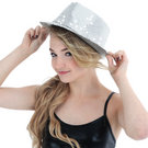 Dasha Sequin Fedora Hat  : 4680