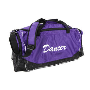 Purple Dancer Duffle Bag
