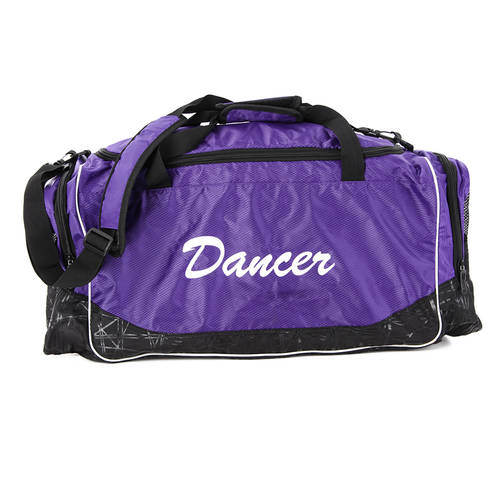 Purple Dancer Duffle Bag : M3001