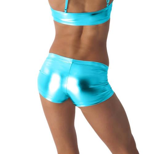 Metallic Booty Shorts : G153