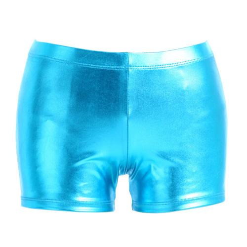 Gia MiaGirls Metallic Booty Short : G153C