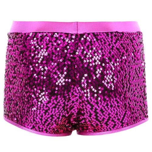 Girls Gia-Mia Sequin Short : G174C