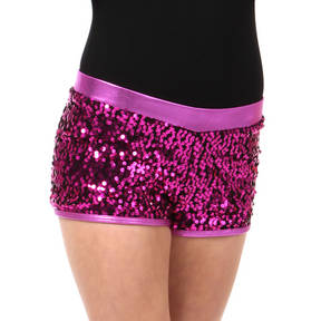 Girls Gia-Mia Sequin Short