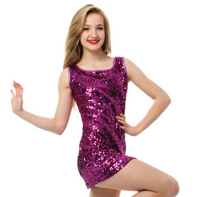 Gia-Mia Sequin Tank Dress