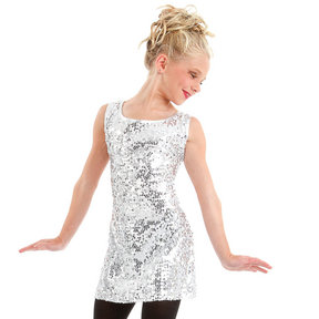 Youth Gia Mia Sequin Tank Dress