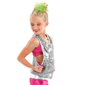 Youth Reflection Sequin Tunic Tank