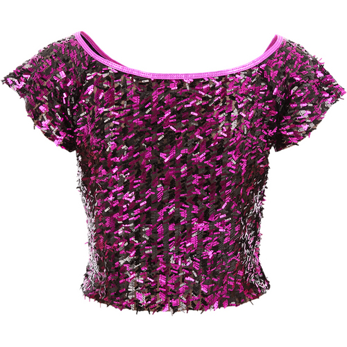 Gia-Mia Sequin Crop Top : G211