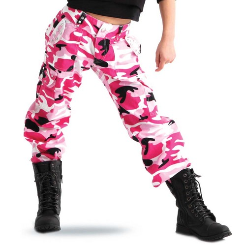 Gia-Mia Camo Bling Pants : G226