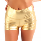 Gia-Mia Adult Metallic High Waist Short : G236