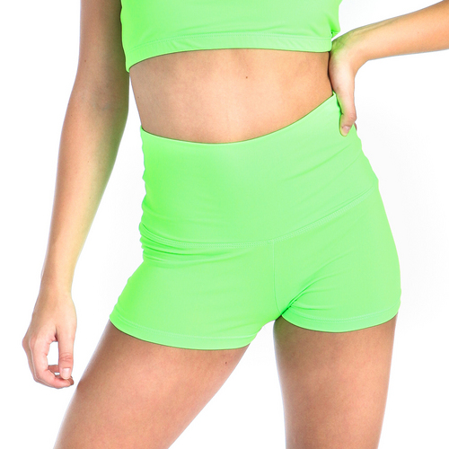 Gia-Mia Solid High Waist Short : G238