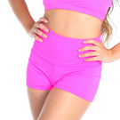 Youth Gia-Mia Solid High Waist Short : G238C