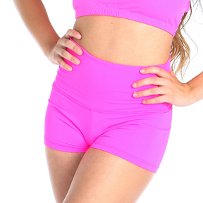 Youth Gia-Mia Solid High Waist Short