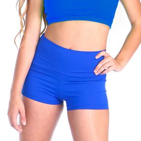 Gia-Mia Solid High Waist Short