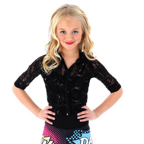 Gia Mia Youth Glitzy Lace Hoodie : G239C