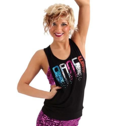 Gia-Mia Falling Dance Tank : G240