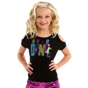 Gia Mia 5678 Youth Dance Tee