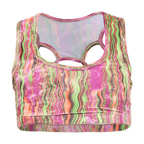 Youth Remix Print Bra Top
