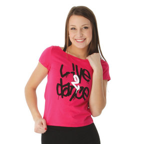 Womens Live 2 Dance Tee