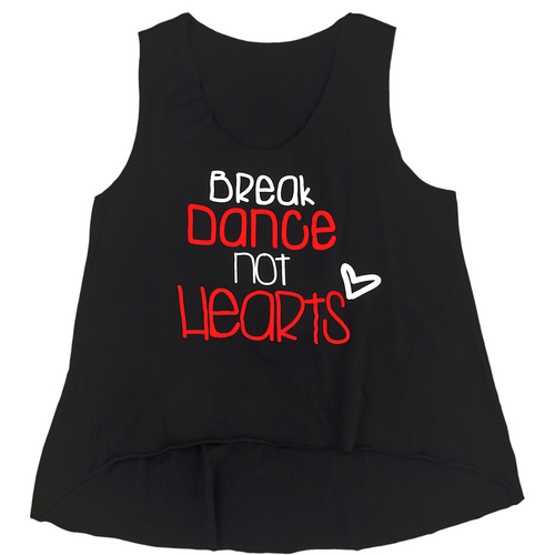 Womens Break Dance Tank : G291A