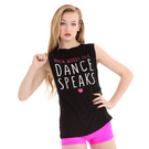 Girls Dance Speaks Tank : G297C