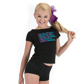 I Am A Dancer Open Back Tee